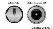 Плюсы и минусы роботов-пылесосов iRobot Roomba 886 и iClebo Arte. Сравнение моделей