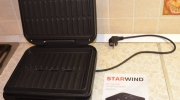 Обзор электрогриля STARWIND SSG9316